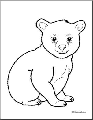 Bear Cub Cliparts # 2724883