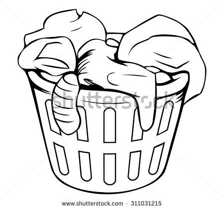 Клипарти за дрехи Hamper # 2734783