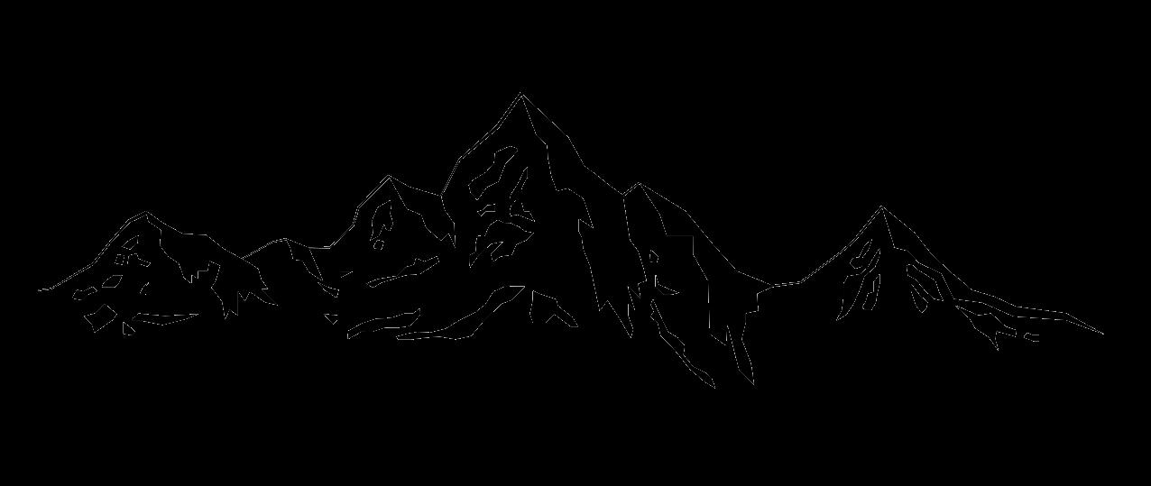 Berg und Baum Silhouette # 1533521