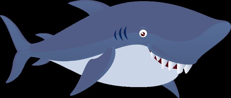 Samling af gratis haj Cliparts (46)
