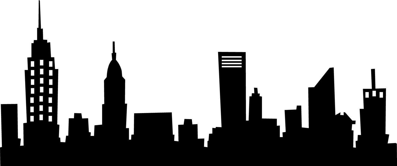 Sammlung von Stadt Skyline Silhouette (37)
