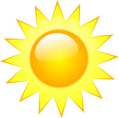 Колекция от безплатни слънчеви клипарти (52)