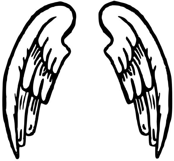 Samling af Angel Wing Clipart (56)