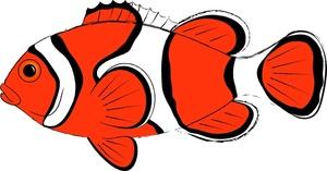 Samling af klovnfisk Cliparts (39)
