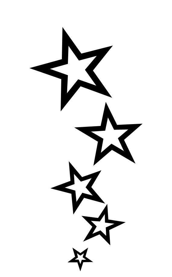 Колекция от татуировки на звезда (33)