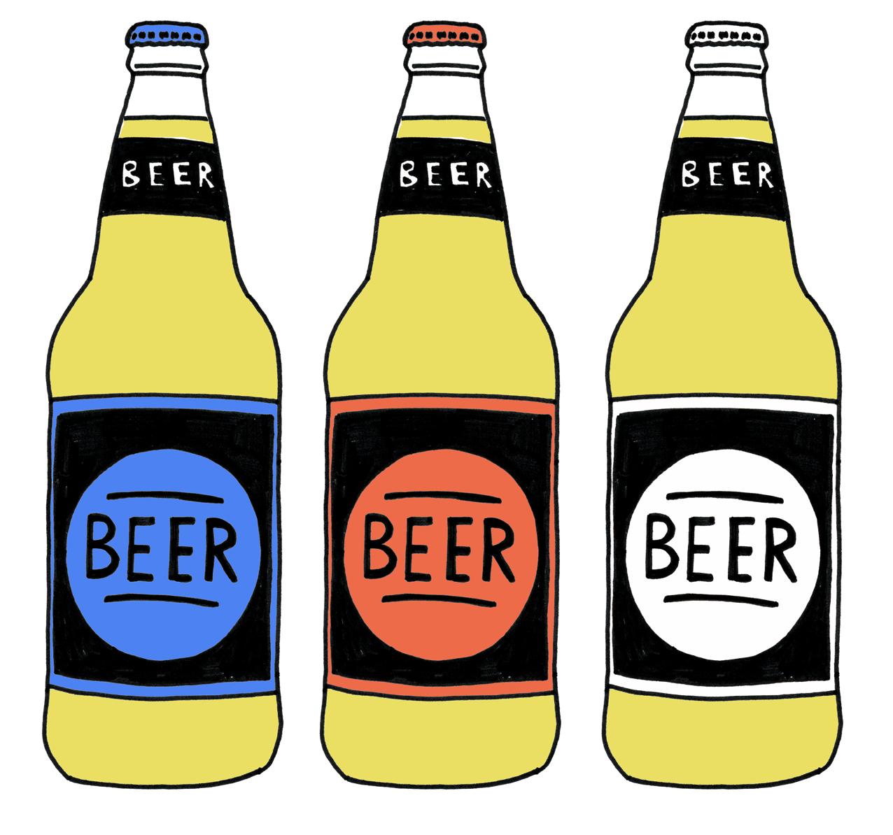 Колекция от бира Clip Art (39)