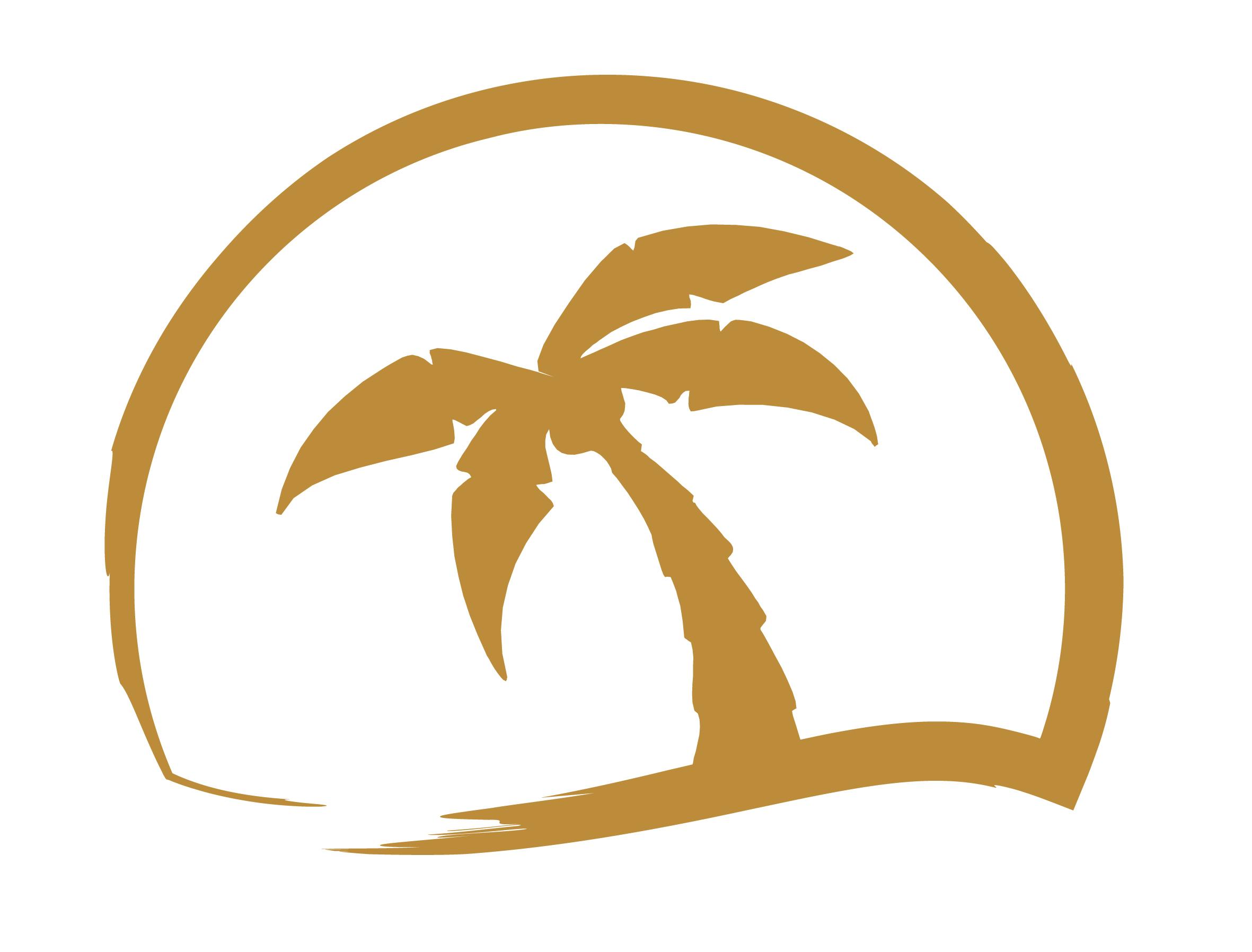 Колекция от лого на палмово дърво (25)