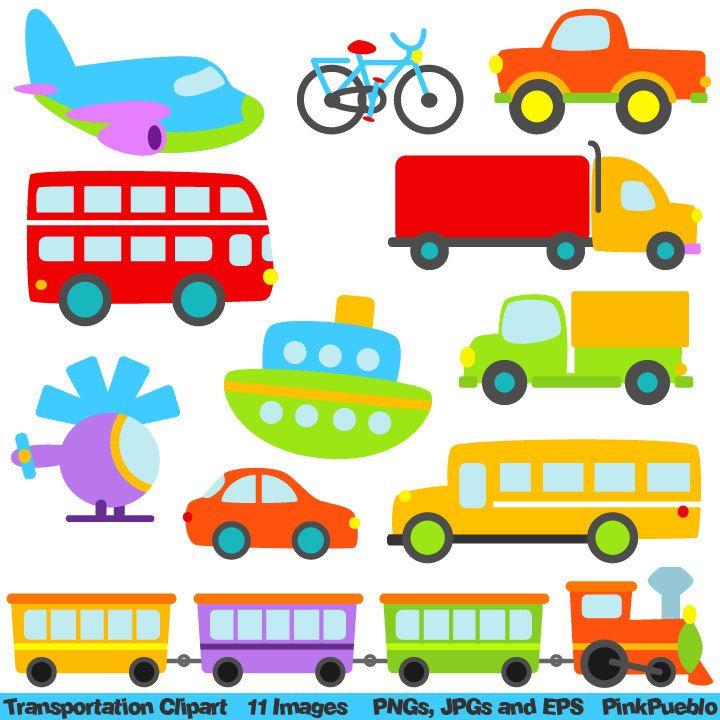 Sammlung von Transport-Cliparts (46)