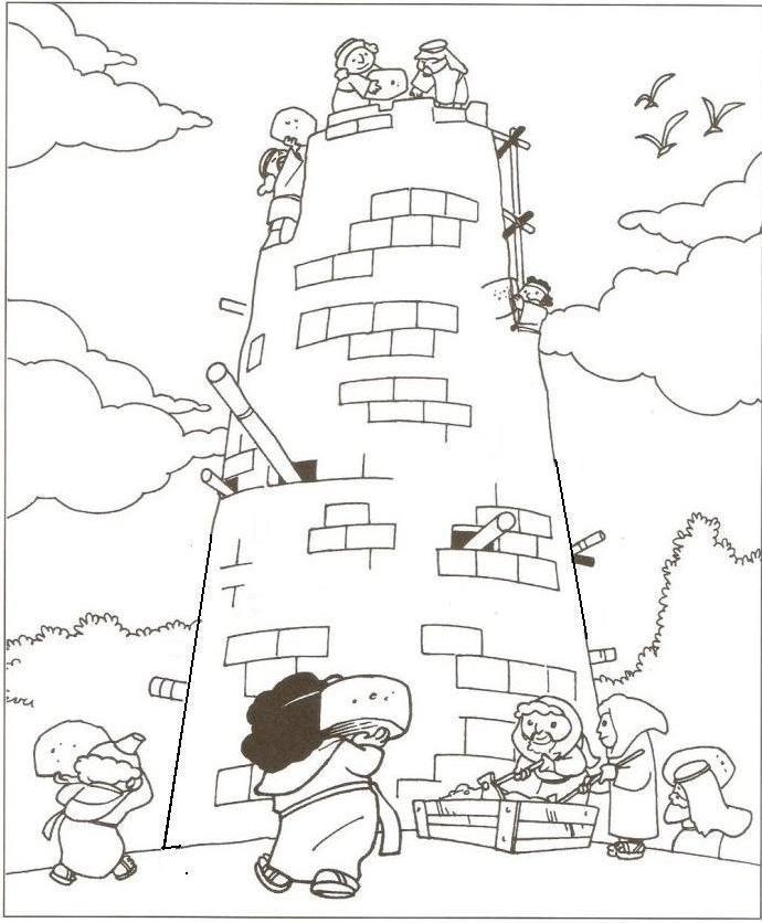 Samling af Babels tårnfarvesider (33)