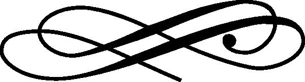 Колекция от клипарти с криволичещи линии (51)