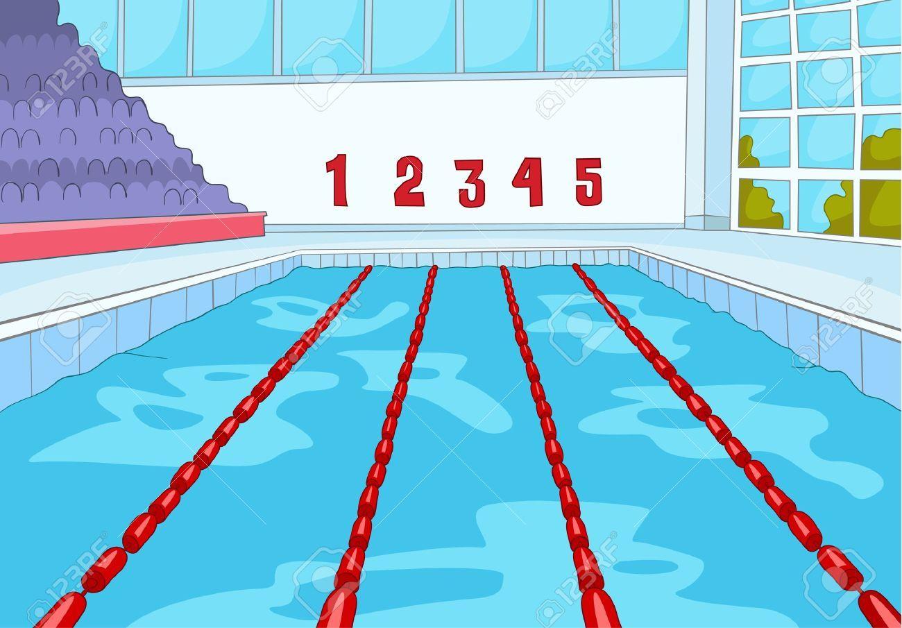 Sammlung wettbewerbsfähiger Schwimm-Cliparts (37)