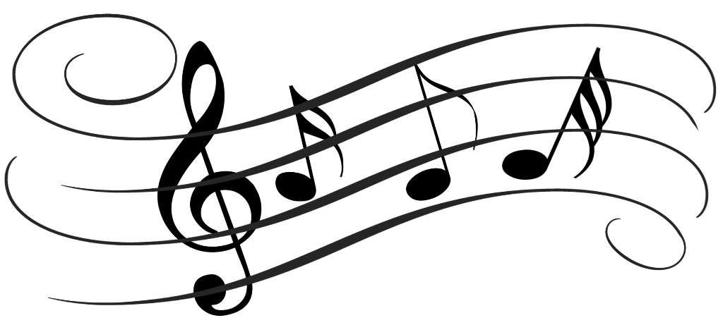 Samling af musik Cliparts (45)
