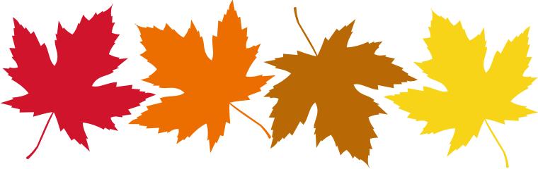 Sammlung von Herbst-ClipArt (50)