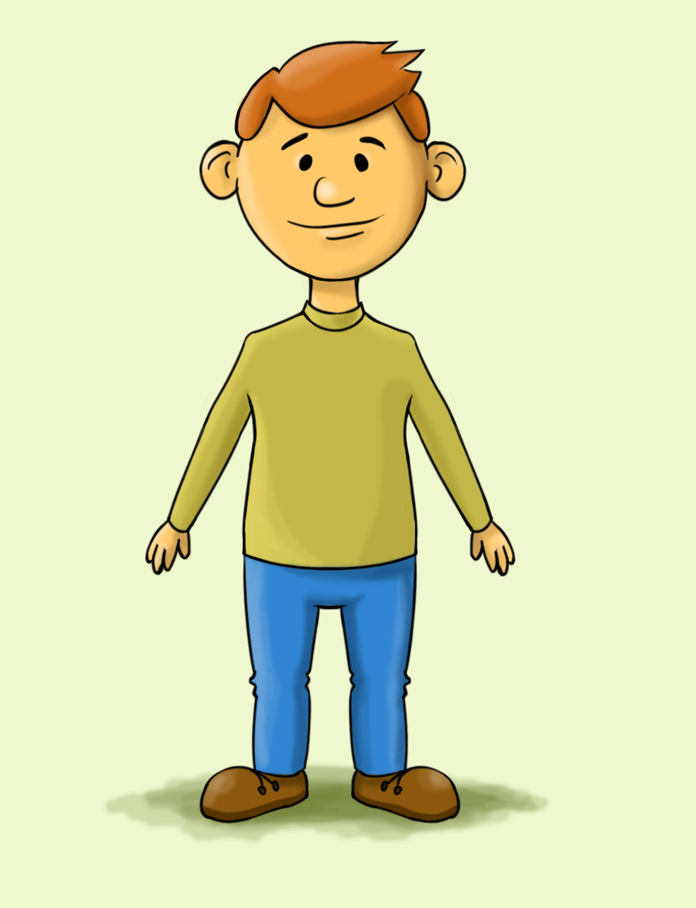 Collection of Man Cartoon Picture (13)
