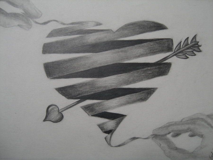 Širdies piešinių su juostele kolekcija (36)