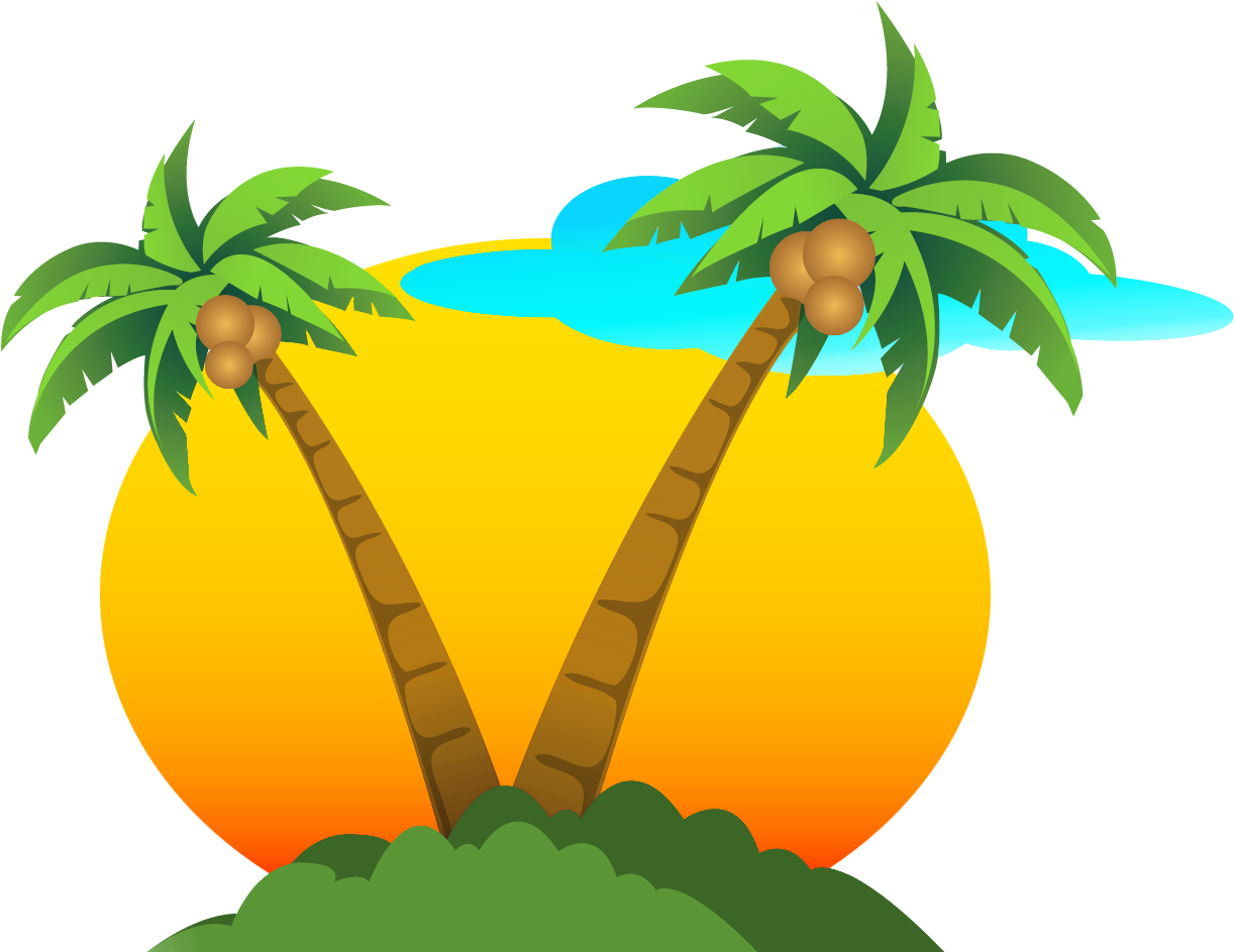 Palm Tree Clipart Png # 1094344