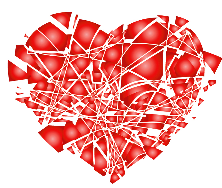 Shattered Heart Cliparts # 2908451